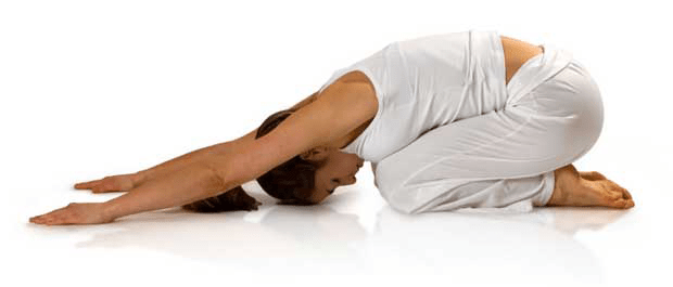 yoga egmond - Kind houding (balasana)
